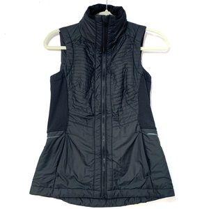 Athleta black vest XXS C27